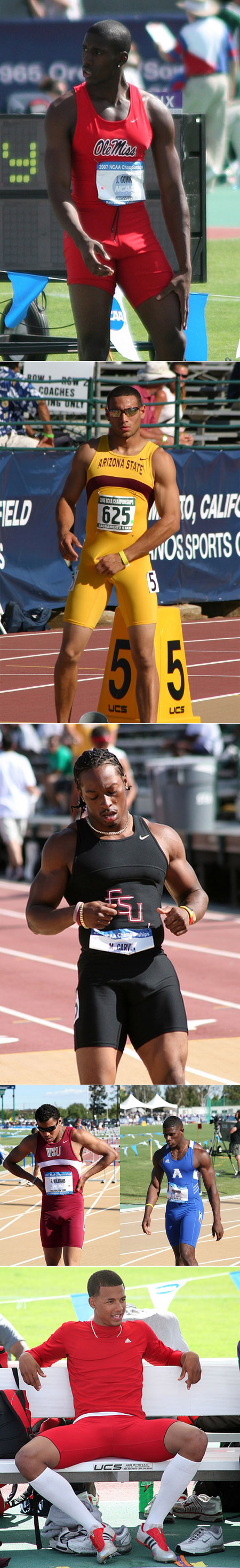 College Track Meat | Black Trackrunners And Them Bulges