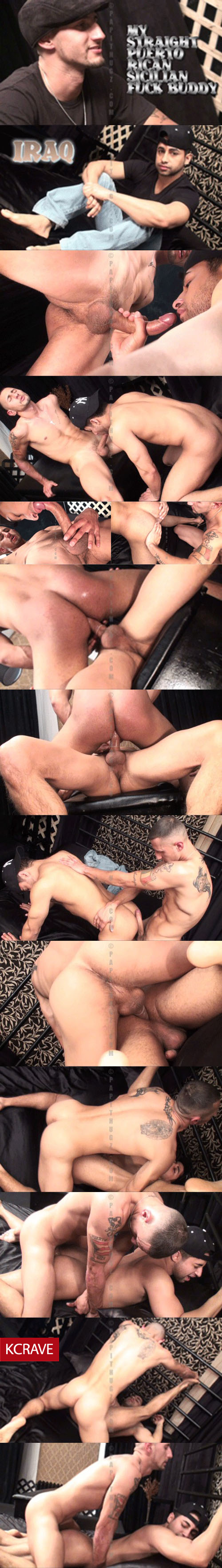 Papithugz - Fucked by a Puerto Rican-Sicilian Straight Boy