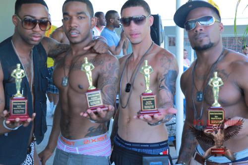 Blatino Oasis Award Winners - HotRod, Ace Rockwood, Phatdaddy, and Sarge