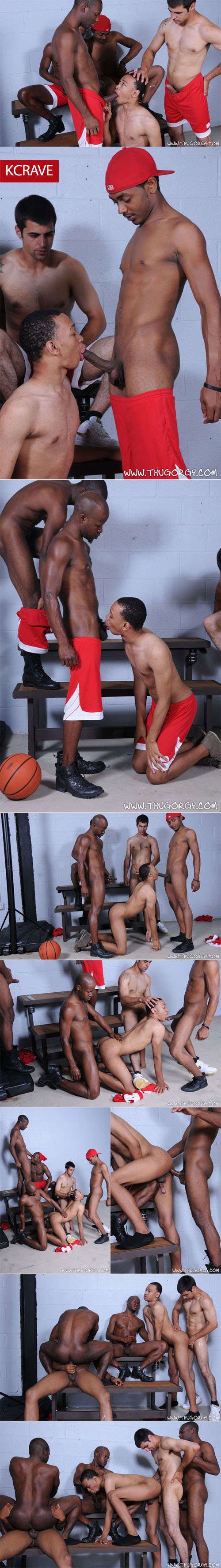 Intrigue, Marquez, Blaze, Brooklyn & Mr. Young Gun's Orgy